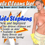 Adele Stephens – Adele Cleans in her Bathroom!