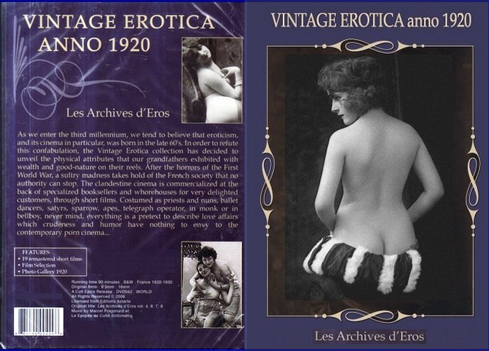 Vintage Erotica Anno/Les Archives d'Eros 1920