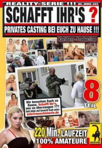 Schafft Ihrs ? Teil 8 Privates Casting bei Euch zu Hause !!!