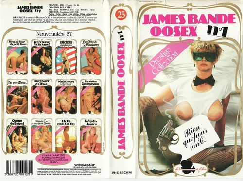 James Bande 00sex n°1 (1982)