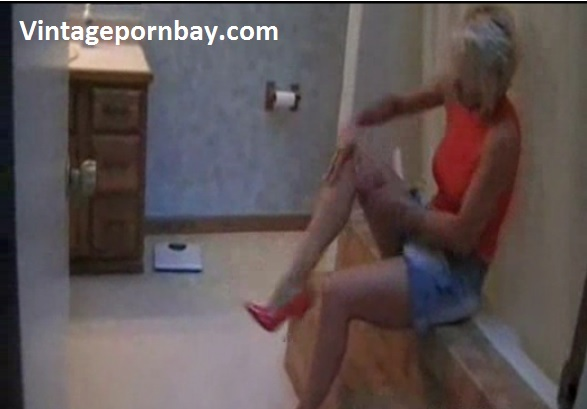 Stepmom Stepson Blackmailing in the Bathroom
