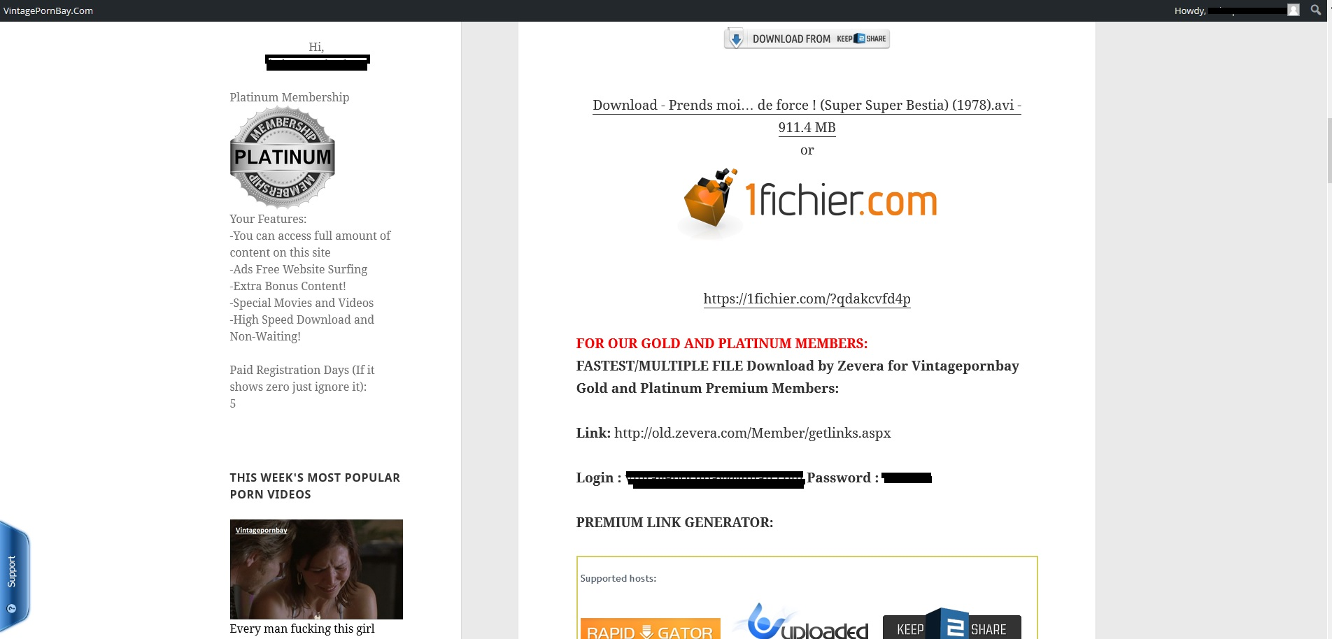 Platinum Premium Links