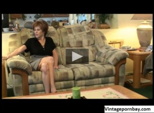 Stepmom with mini skirt seduces Stepson for sex