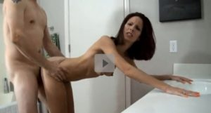 Stepmom Fucked Anal From Behind , It Hurts Much!