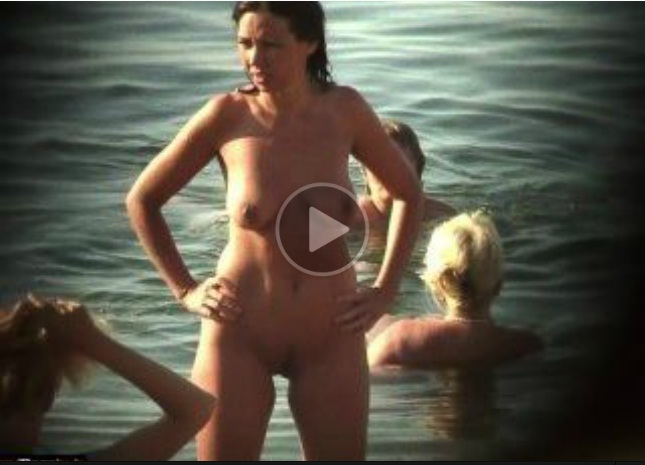 Milf Nude Milf in the Beach! Waiting for the Right Guy!