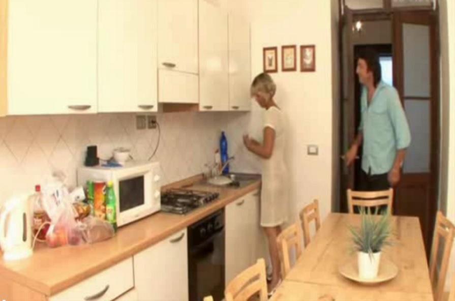 Hard Kitchen Fuck For Blonde Milf! [Vintage Amateur]