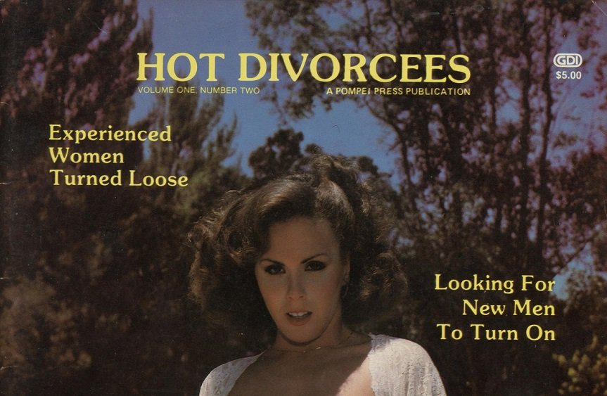 Hot Divorcees (US) 1979 Vintage Magazine [Full Scans]