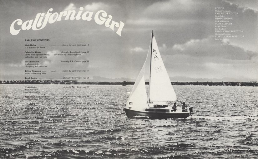 California Girl [Vintage Nude Magazine] n. 8 (1-1973) [Full Scans]