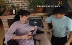 German Stepmom so excited when her son attempts to fuck her!