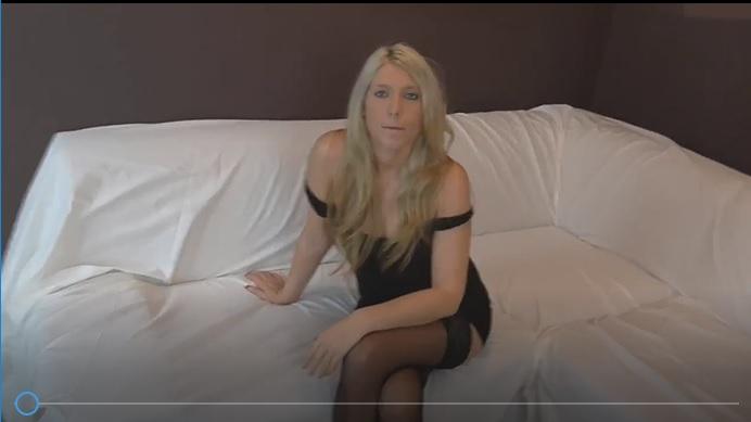 German Milf fucked hard with her nylon stockings