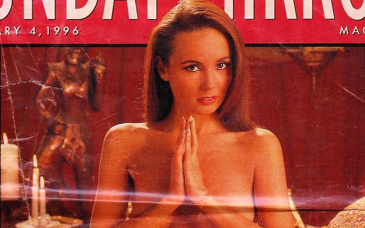 Sunday Mirror – Karma Sextra 04-02-1996 [Very Rare Magazine]