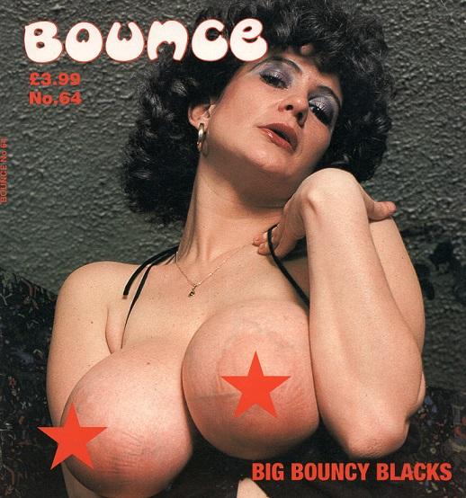 Amazons – Bounce No 64 & Peaches magazines (UK Tozerward publications)