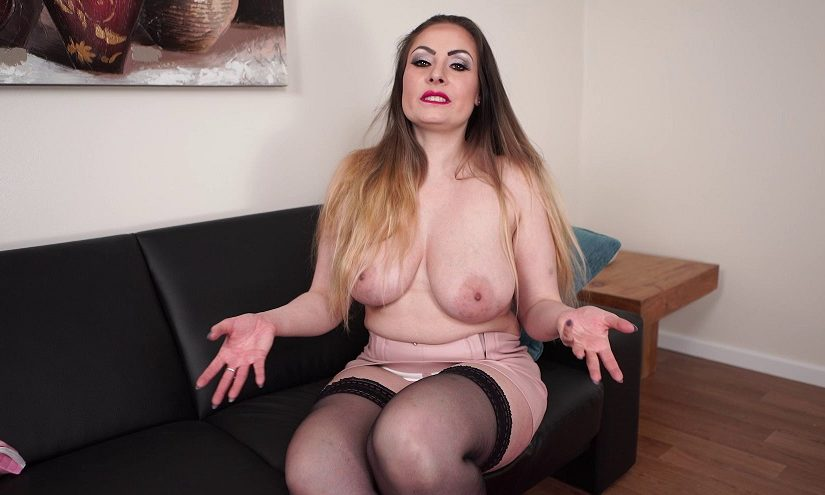 Wank it to your Busty Mature Stepma [1080p]