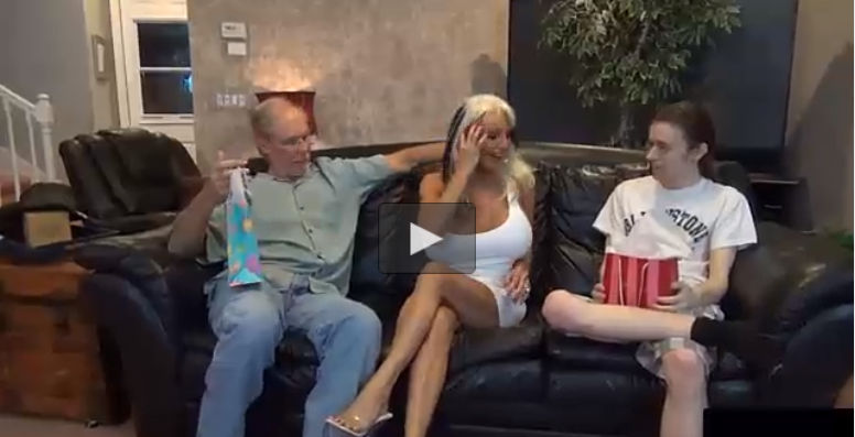 Old-man Letting Him to Fuck His Mature Mature