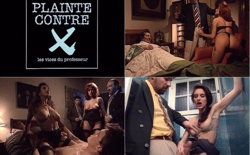 Plainte Contre X Les Vices du Professeur [1994] [HQ] [Download]