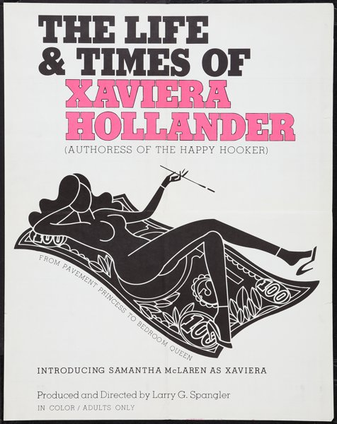 The Life and Times of Xaviera Hollander (1974) (Softcore) [Download]