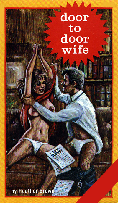 Ab-5109 Door to door wife (heather brown) 1977 (Rare) [E-book] [Download]