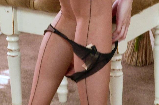 Milf Enjoys Her Toy Fuck in Vintage Stockings [HD] [1080p]