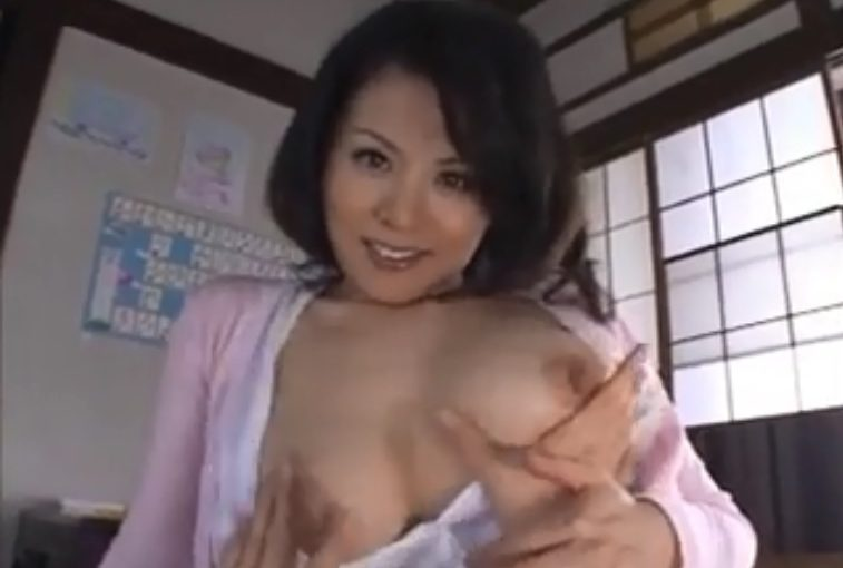 My Beautiful and Big Tits Japanese Milf