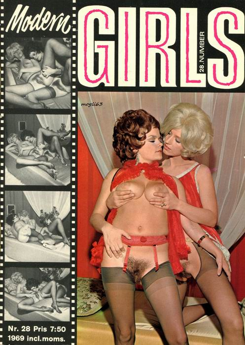 Vintage Milfs: Modern Girls #28 (1970s) JPG (Denmark) [Magazine] [Download]