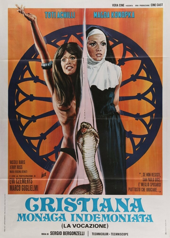 Cristiana monaca indemoniata (1972) (ITALY) (Softcore) [Watch & Download]