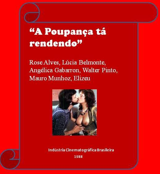 A Poupanca ta Rendendo (1988) (Brazil) (Rare) [Download]