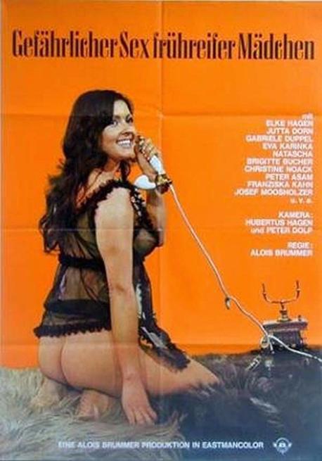 Le allegre vacanze delle collegiali - (1970's) (Softcore) (ITA) (Rare) [Download]