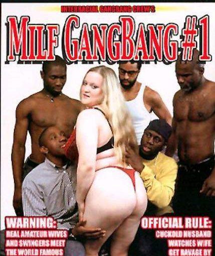 Blonde MILF Gangbanged by Black Guys