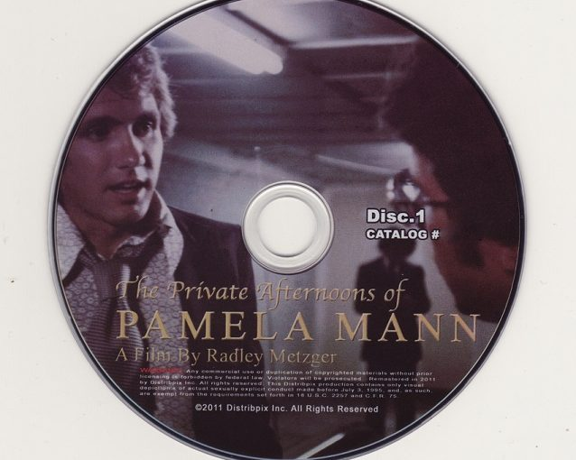 The Private Afternoons of Pamela Mann : 2 Disc Collectors Edition (1975) [6.93GB] [HD] Disc 1