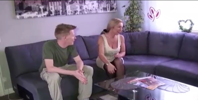 German MILF Seduced His Friend